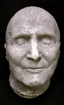 death mask picture