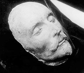 shakespeare death mask
