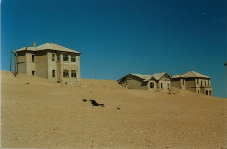 nambia ghost town
