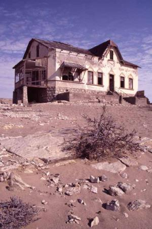 african ghost town