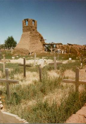 new mexico graveyard picture