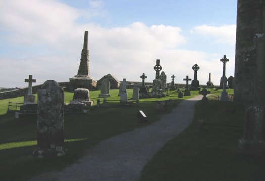 irish graveyard picture